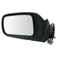92-95 Caravan Power Mirror Blk LH