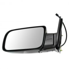 88-00 Chevy PU Power Mirror Blk LH