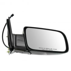 88-00 Chevy PU Power Mirror Blk RH