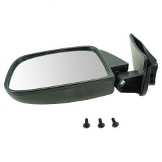 89-95 Toyota PU Manual Mirror Blk LH