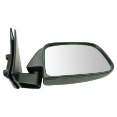 89-95 Toyota PU Manual Mirror Blk RH