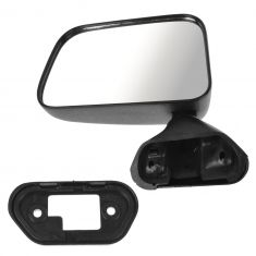 87-95 Toyota PU Manual Mirror Door Mnt Blk LH