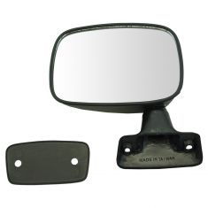 79-83 Toyota PU Manual Mirror Blk LH