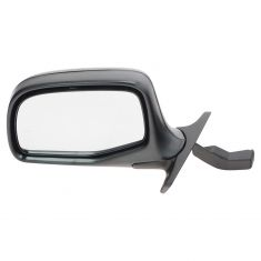 92-96 Bronco PU Manual Mirror Blk/Chr LH
