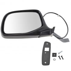 92-96 Ford PU Bronco Power Mirror Chr LH