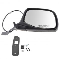 92-96 Ford PU Bronco Power Mirror Chr RH
