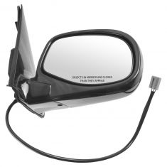 93-05 Ranger Power Mirror Smooth Gloss Black RH