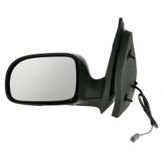 Mirror POWER (Flat Black) Driver Side