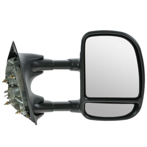 how to install replace broken side rear view mirror 99 07 ford f250 super duty 1a auto. Black Bedroom Furniture Sets. Home Design Ideas