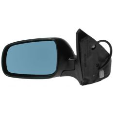 1999-05 VW Jetta Heated Power Mirror with Blue Tint without Memory LH