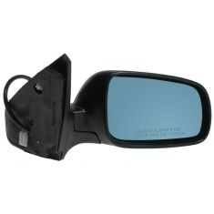 1999-05 VW Jetta Heated Power Mirror with Blue Tint without Memory RH