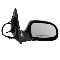 Mirror POWER (Gloss Black) Passenger Side