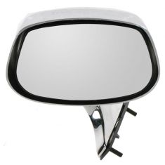1980-90 GM Full Size RWD Chrome Manual Mirror LH