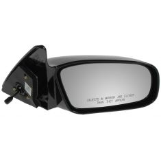 00-05 MITSUBISHI Eclipse, blk Manual Remote Mirror RH