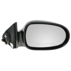 1995-99 Nissan Sentra 200SX Black Manual Mirror RH