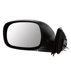 00-06 Toyota Tundra Manual Black Textured Mirror LH