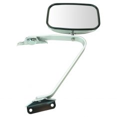 80-96 Bronco Manual Swing lock Chrome Mirror LH=RH