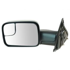 02-10 Dodge Pickup Trailer Tow Manual Mirror LH
