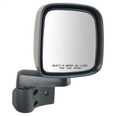 03-06 Jeep Wrangler (w/Full Door) Manual Mirror RH
