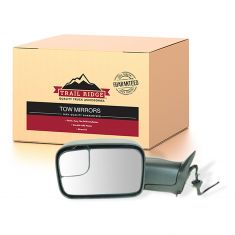 98-02 Dodge Ram PU Power Heated Tow Mirror Upgrade LH (TR)