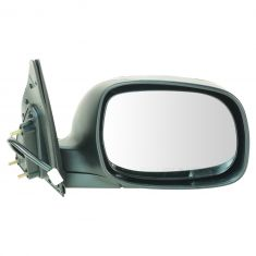 04-06 Toyota Tundra Double Cab Power Chrome Mirror RH