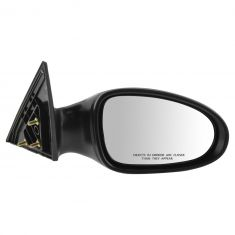 02-06 Nissan Altima Mirror Manual Black RH