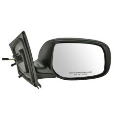 06-11 Toyota Yaris Mirror Sedan Manual Folding RH