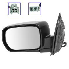 02-06 Acura MDX Mirror Power Heated Folding with memory Touring Package LH