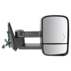 03-07 GM Truck SUV Pwr Htd Turn Signal Dual Arm Xtendable Towing Mirror RH (TR)