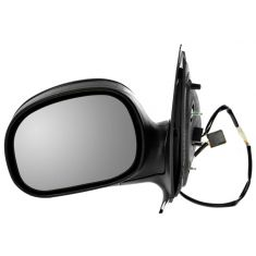 98-02 Expedition Pickup Power Mirror Flat Black LH