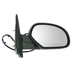 07-11 GM Truck Power Heated Blk Text Cap Mirror RH