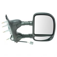 09-14 E150, E250; 09-16 E350, E450 Power Dual Arm Tow Mirror RH (TR)
