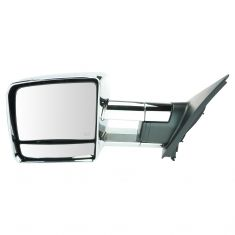 07-16 Toyota Tundra Pwr Htd Tinted LED TS Chrome Tow Mirror LH