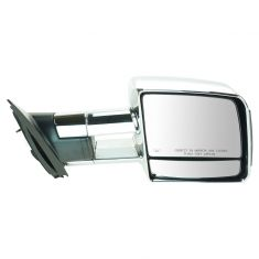 07-16 Toyota Tundra Pwr Htd Tinted LED TS Chrome Tow Mirror RH