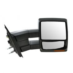 07-14 Ford F150 Power Heated Puddle Light Turn Signal Textured Tow Mirror RH (Upgrade)