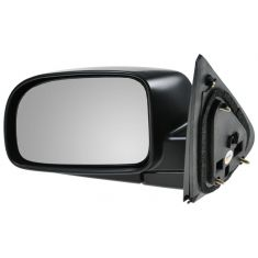 07-10 Hyundai Sante Fe Black w/Smooth Black Cover Power Heated Mirror LH