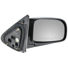 07-10 Hyundai Sante Fe Black w/Smooth Black Cover Power Heated Mirror RH