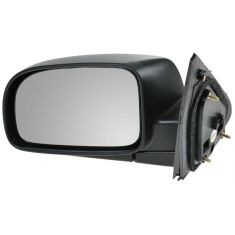07-10 Hyundai Sante Fe Black Textured Power Heated Mirror LH
