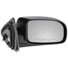 07-10 Hyundai Sante Fe Black Textured Power Heated Mirror RH