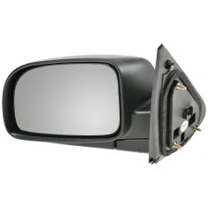 07-09 Hyundai Sante Fe Black Textured Power Mirror LH