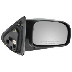 07-09 Hyundai Sante Fe Black Textured Power Mirror RH