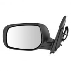 09-12 Toyota Corolla Power Heated Gloss Black Mirror LH