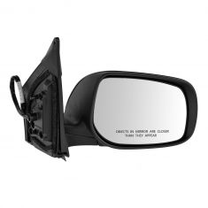 09-12 Toyota Corolla Power Heated Gloss Black Mirror RH