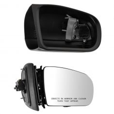 00-02 MB E320; 03 E320 SW; 00-02 E430, E55AMG Power Heated w/Memory & Turn Signal (11 Pin) Mirror RH