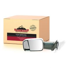 09-11 Ram 1500 (exc Mega Cab); 10-11 2500 3500 Pwr Htd TS PL Chrme Cap Tow Upgrade Mirror LH (TR)