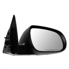 11-13 Kia Forte Coupe Power Heated w/Turn Signal Black PTM Mirror RH