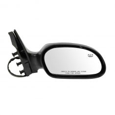 00-07 Ford Taurus; 00-05 Mercury Sable Heated Power Heated (non folding) w/PTM & Txt Cvr Mirror RH
