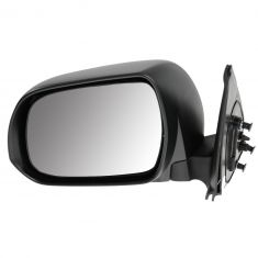 12-13 Toyota Tacoma Manual Black Textured Mirror LH