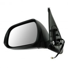 12-13 Toyota Tacoma Power Black Textured Mirror LH