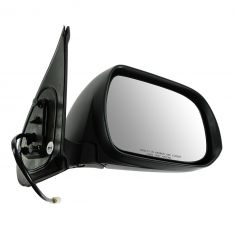 12-13 Toyota Tacoma Power Black Textured Mirror RH